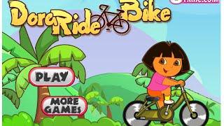 Dora The Explorer Online Games - Dora Ride Bike Game - Dora Bike Games Online