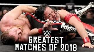 10 Greatest WWE Matches of 2016!