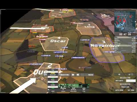 Wargame European Escalation Gameplay Strategy auf groen Maps