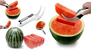 Knife for watermelon / Quickly and beautifully cut watermelon / Special knife for watermelon