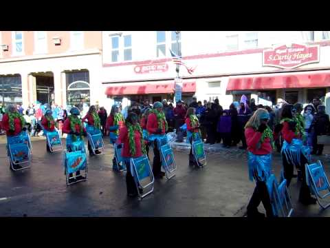 WInter Carnival Saranac Lake NY 2013 Lawn Chair Ladies .MOV