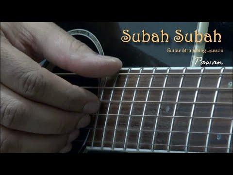 Subah Subah - I See You - Guitar Chords Lesson by Pawan