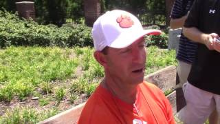 TigerNet.com - Dabo Swinney August 8 part two
