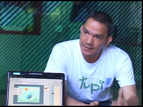 Tupi, un software libre para animar.