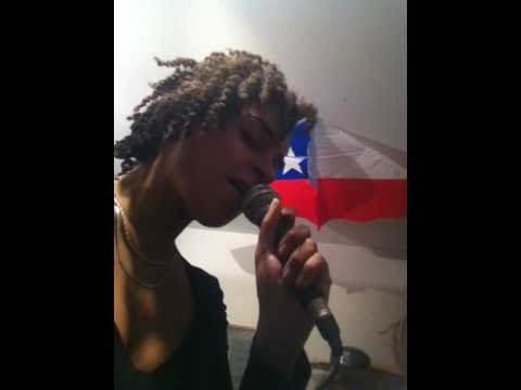 Athésia sings Latibonit :: Haitian traditional song.MOV