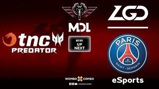 TNC Predator vs PSG.LGD Game 1 | MDL Changsha Major | Lower Bracket R2 (Bo3)