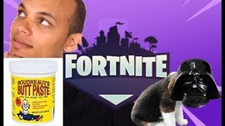 TEAMMATE NAMES PUPPY DARTH VADER (FORTNITE BATTLE ROYALE FUNNY MOMENTS/FAILS)