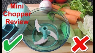 Mini Chopper Review  | Pigeon mini chopper | Indian Kitchen Organization
