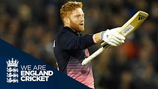 Jonny Bairstow Hits Maiden ODI Hundred - Highlights: England v West Indies 1st ODI 2017