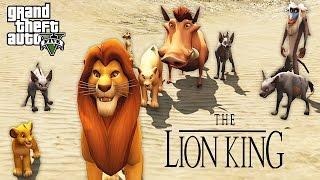 THE LION KING!! (GTA 5 Mods)