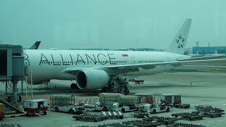My scariest flight! Singapore Airlines: Singapore to Dubai, B777-300 in economy class