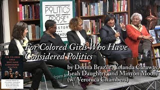 """For Colored Girls Who Have Considered Politics"" by Donna Brazile, Yolanda Caraway et. al"