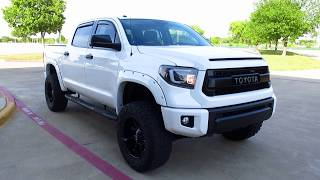 "2017 Toyota Tundra SR5, 5.7, lift kit, 35"" tires, alpine upgrade, 4x4"