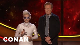 A Time Traveler Visits #ConanCon - CONAN on TBS