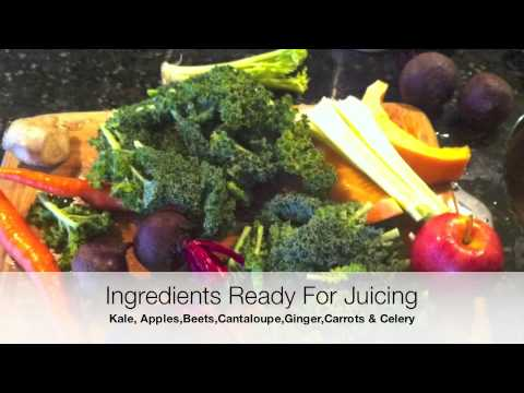 Breast Cancer Juicing Recipe