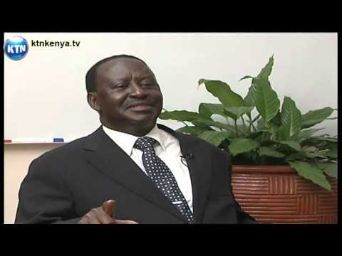 Raila's one on one with Joe Ageyo