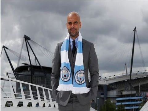 [ Video ] New Manchester City Manager Pep Guardiola Already Fighting To Save Job