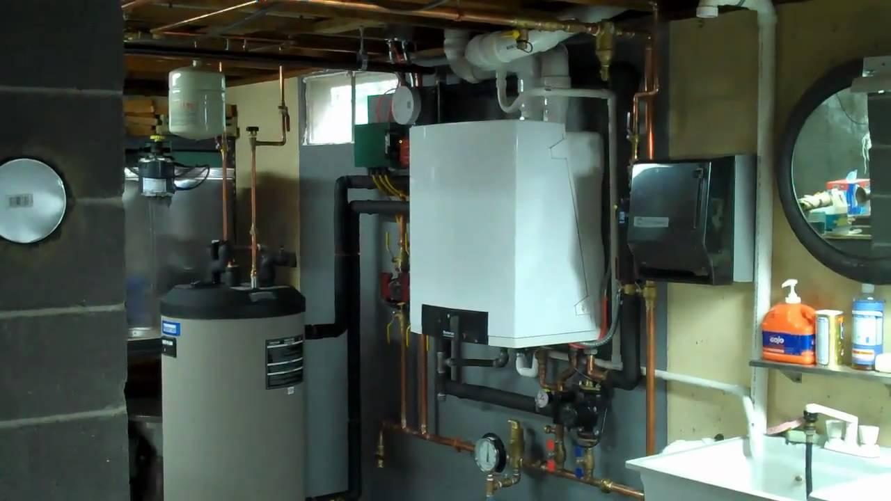 Buderus Gb142 Gas Boiler Youtube