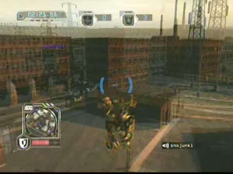 TF:RoTF PS3 Online Gold Optimus Prime Gameplay