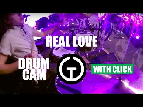 Real Love - Hillsong Y&F (Drum Cam) thumbnail