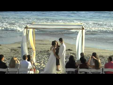 Dream Beach Wedding San Diego Beach Wedding Elope to Coronado
