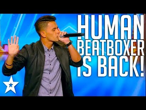 HUMAN BEATBOXER From The Philipines Does 6 Sounds At Once On Asia's Got Talent 2017