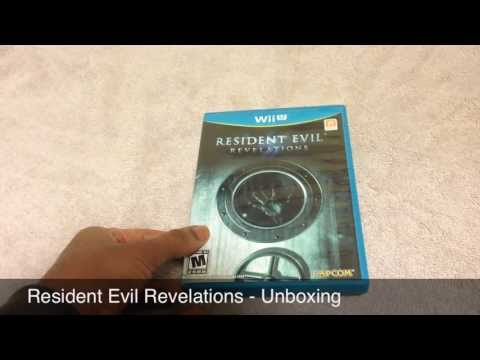 Resident Evil Revelations Unboxing (Wii U)