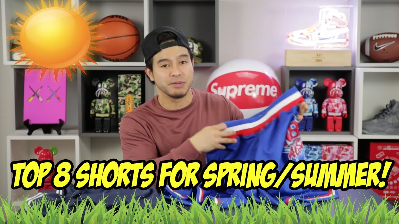 TOP 8 SHORTS FOR SPRING & SUMMER!