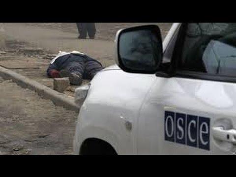 Без комментариев Обстрелян 31 блок пост - OБСЕ -  ничего не вижу, ни чего не слышу!!!