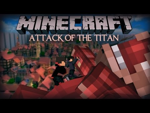 Minecraft SPIDERMAN Attack on Titan Mini Game