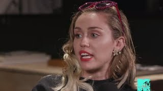 """Miley Cyrus REVEALS How Hannah Montana & """"Younger Now"""" Are Connected"""