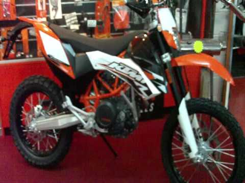 KTM 690 Enduro r Video