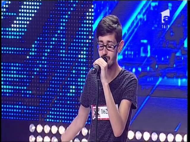 """Talisman - """"Atât de singur"""". Interpretarea lui Sergiu Rudean, la X Factor!"""
