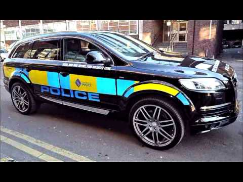 police vehicles uk vs usa