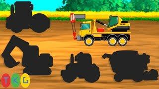 Lắp ráp Xe Xúc Đất, Xe Ủi Đất, Xe Tải, Xe Công Trình các loại | TopKidsGames