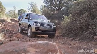 2016 Land Rover Range Rover Td6 DIESEL *First Look* Video Review