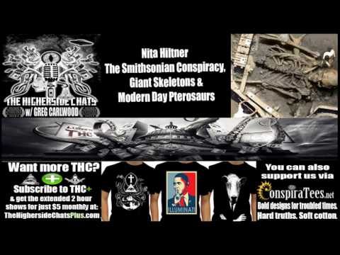 Nita Hiltner | The Smithsonian Conspiracy, Giant Skeletons, & Modern Pterosaurs