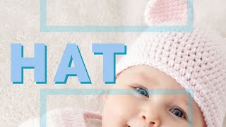 Download How to Crochet A Baby Hat with Teddy Bear Ears 3Gp Mp4