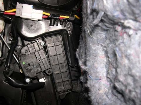 Nissan Juke How to change cabin air filter