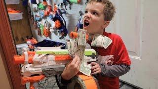 Nerf War:  $500 Blaster Pickup