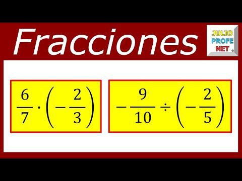 Operaciones con Fraccionarios-Operations with Fractions