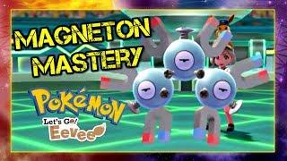 Pokemon Lets Go Pikachu and Eevee Singles Wifi Battle - Magneton Mastery