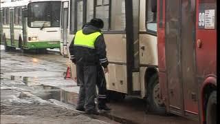 Пассажиры автобусов, попавших в ДТП в Ярославле, рассказали об аварии