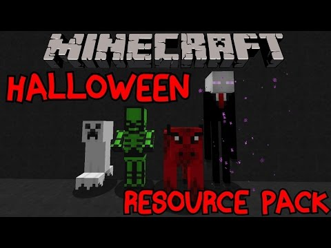 Minecraft Halloween Resource/Texture Pack   Showcase Review 1.8. 1.8.8 PC from Xbox 360