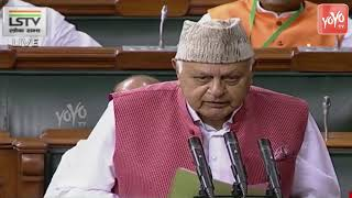Farooq Abdullah Takes Oath As Member Of The 17th Lok Sabha | PM Modi | Jandamp;KNC, Srinagar