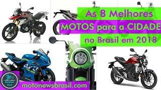 As 8 melhores MOTOS e scooters de 2018 para CIDADE no Brasil