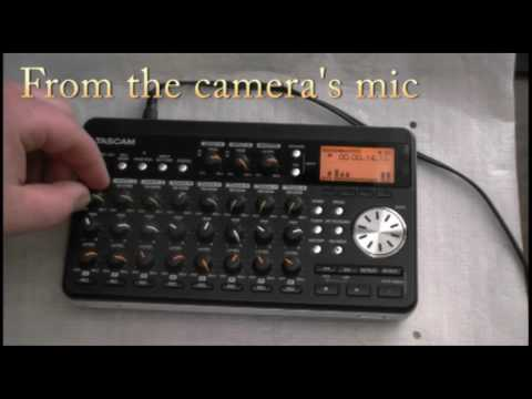 Tascam DP-008. quick review