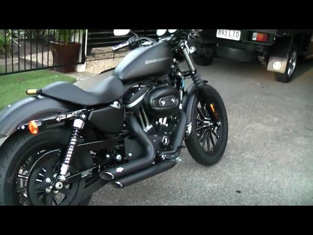 Harley Davidson Iron 883 Blacked Out Harley Davidson Iron 883