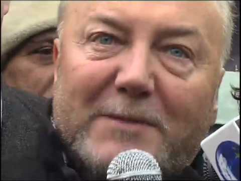 GEORGE GALLOWAY VIVA PALESTINA GAZA CONVOY, 14 February 2009