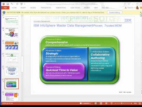 IBM Infosphere Master Data Management